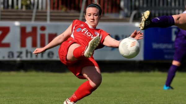 Rebecca Creagh signs for her third Shels spell